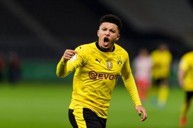 Borussia Dortmund winger Jadon Sancho could be the headline signing at Man Utd this summer