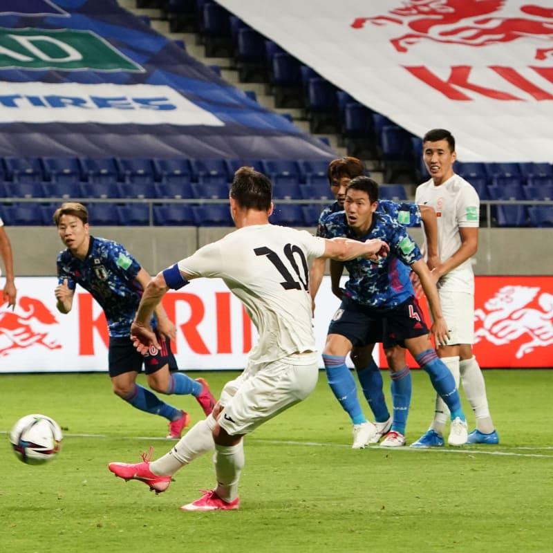 Mirlan Murzaev of Kyrgyz Republic converts the penalty to score