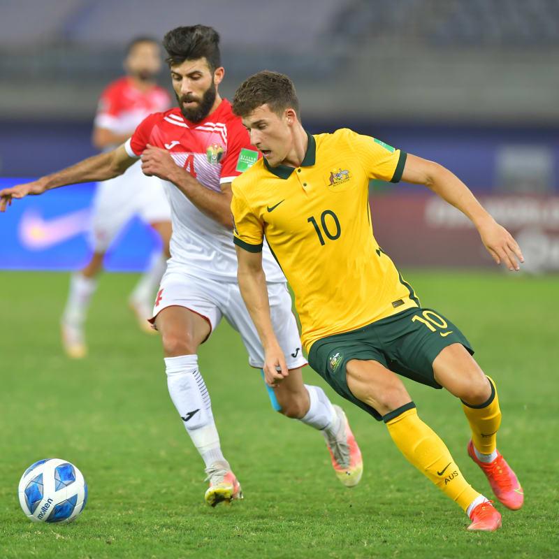 Australia vs Jordan, FIFA World Cup Qatar 2022 qualifying