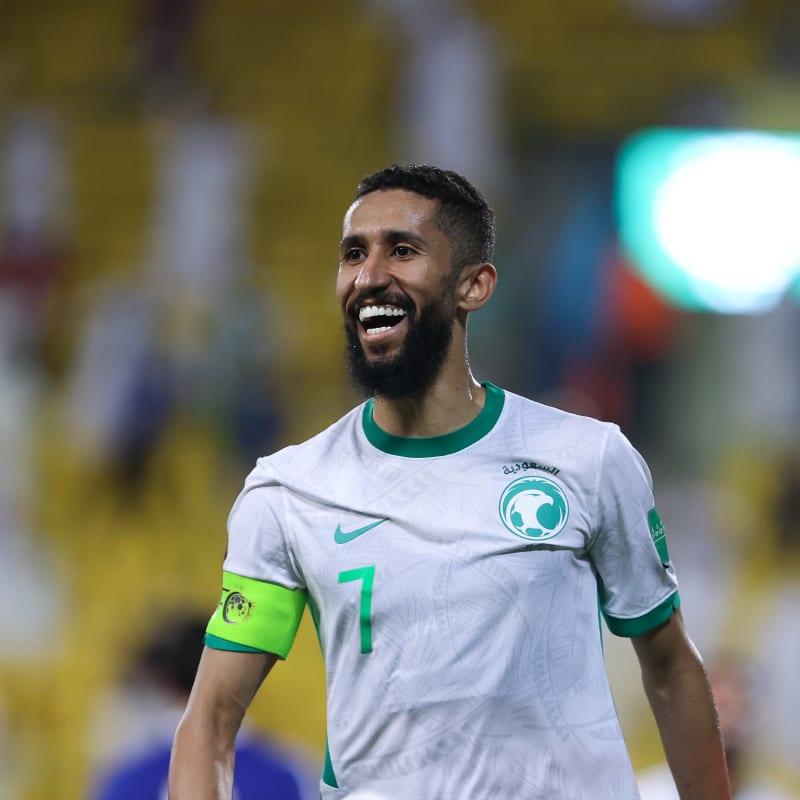 Salman Alfaraj of Saudi Arabia smiles