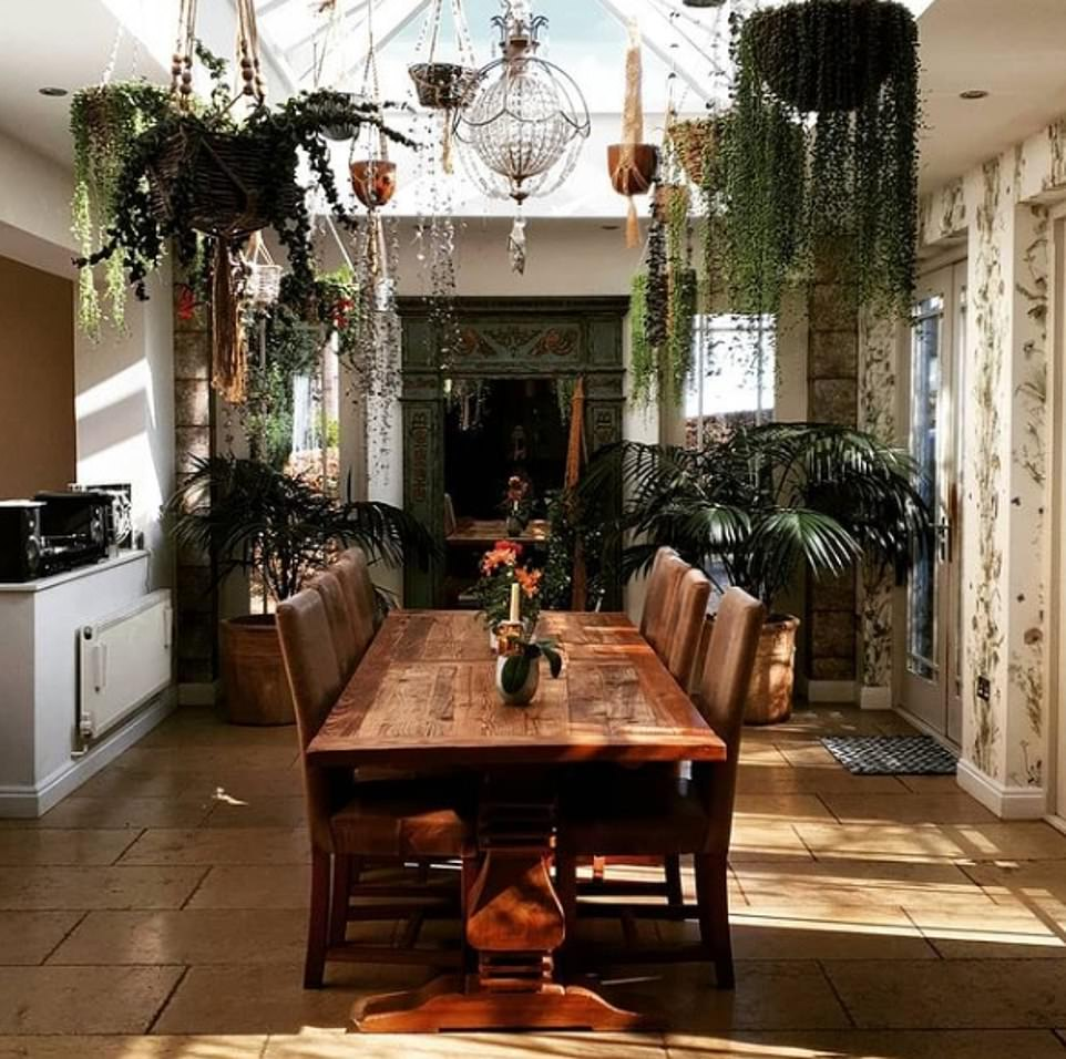 Look inside:Charlotte Church has given fans a glimpse inside her quirky £2.5 million South Wales home that boasts a school in the annex