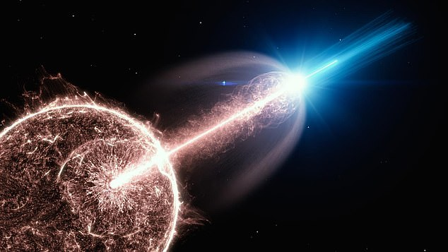 This was determined after scientists captured light emitted just 90 seconds after GRB 141220A occurred in 2014, which is the earliest detection on record