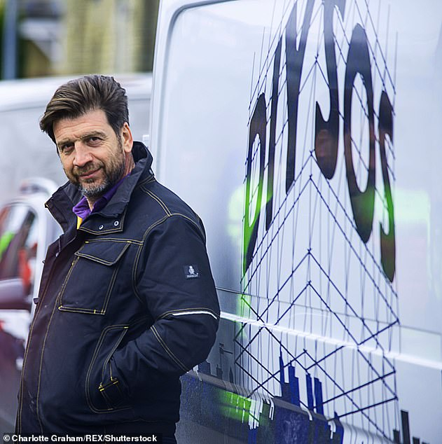Star: Nickhas been the face of DIY SOS for the last 22 years (pictured on the show in 2015)