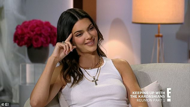 Famous family:Kendall said the fact that they started on the show when they were all so young felt like the show and fame just grew with them