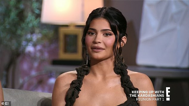 Tequila time: Kylie admitted that she had some tequila before the reunion started