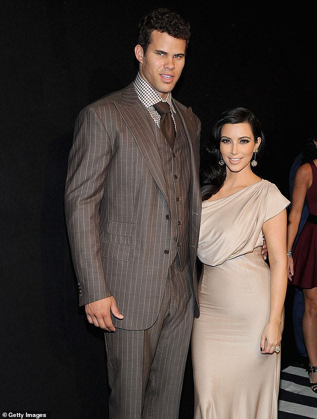 Short marriage: Kris and Kim, shown in August 2011 in New York City, had a 72-day marriage in 2011