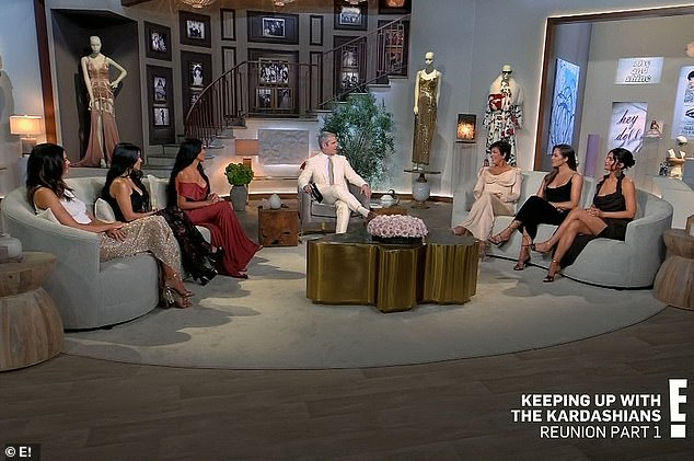 20th season reunion: The Kardashians and Jenners talked about a slew of subjects with moderator Andy Cohen during part one of the reunion