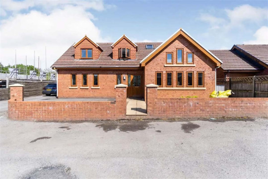 Four-bedroom detached bungalow, Swansea, Wales, £420,000