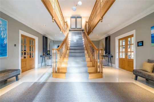 Six-bedroom detached house, Batley, West Yorkshire, £2,375,000 - staircase
