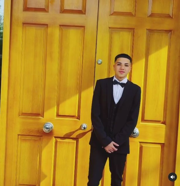 Junior is growing up, and was seen recently heading to his prom