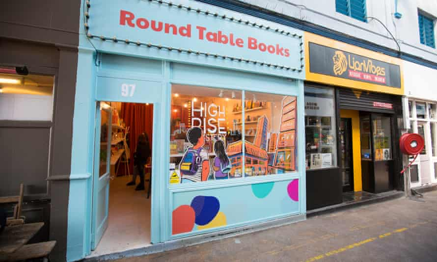 Round Table Books in Brixton