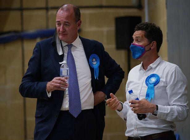 Defeated Tory Peter Fleet