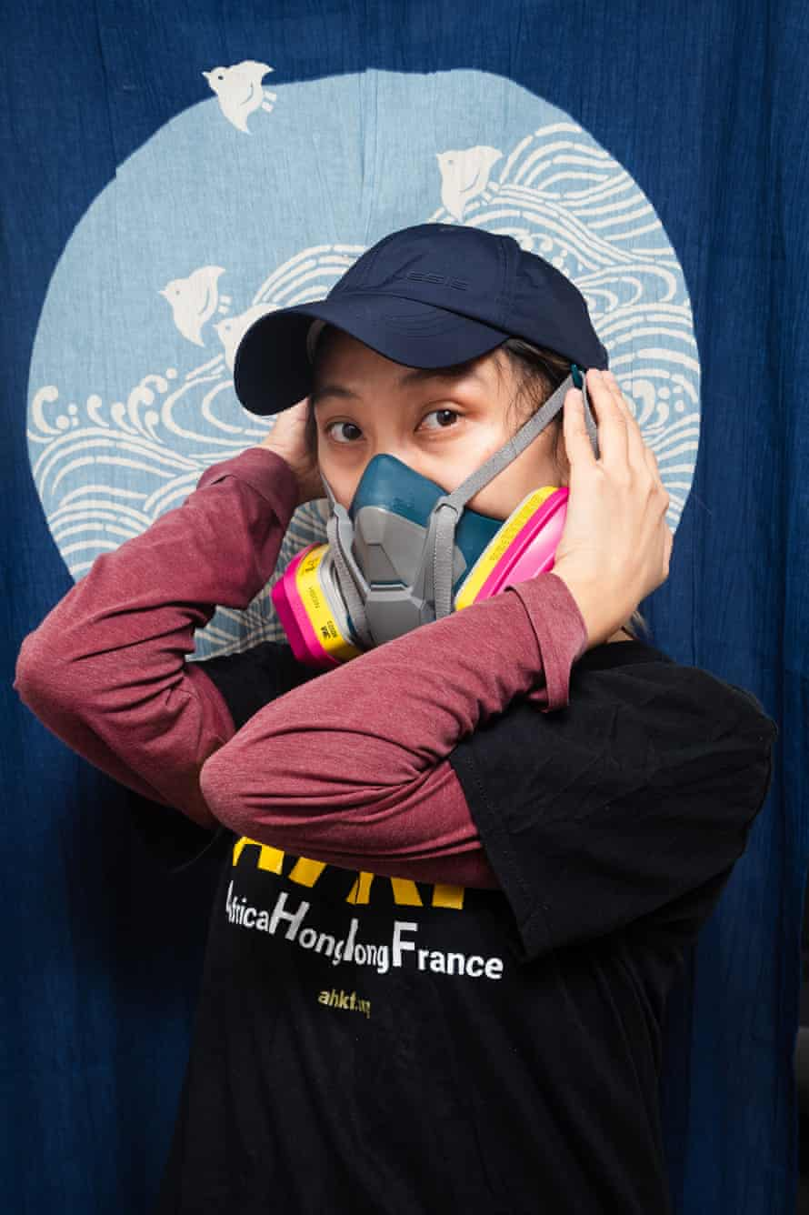 LK (not her real name), 38, an artist and human rights activist, came to France from Hong Kong.