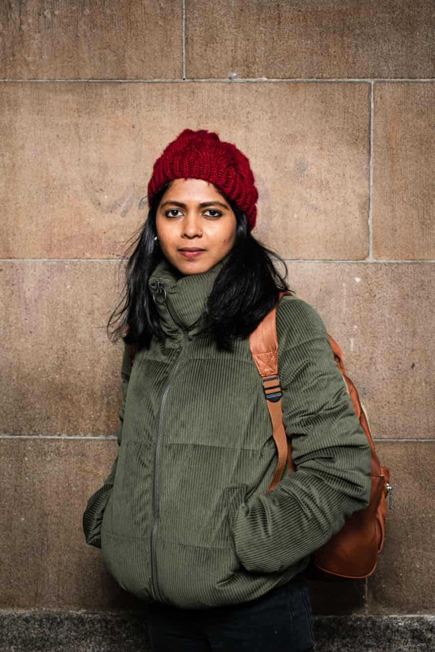 'I always wanted to be a journalist,' says Shammi Haque from Bangladesh.