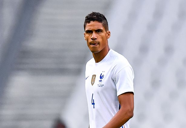 Raphael Varane has been linked with a move to Manchester United