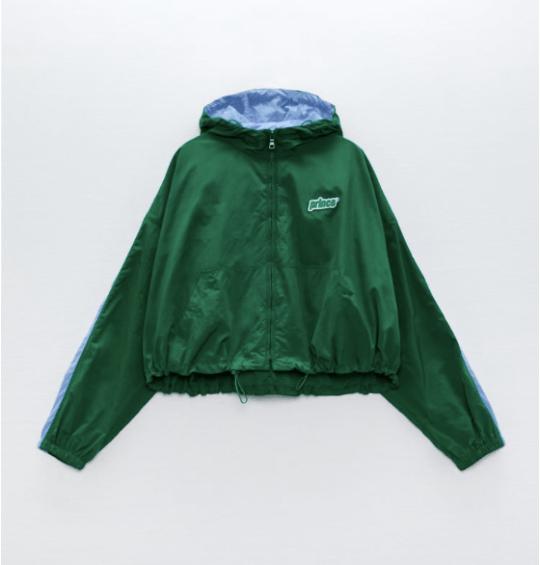 Prince vs Zara rain jacket