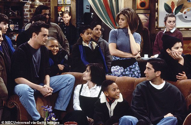 Chat:'I just remember how incredibly sweet the cast was. In between takes I remember sitting on that iconic couch sitting in between Courteney Cox and Jennifer Aniston just chatting it up,' Mowry said