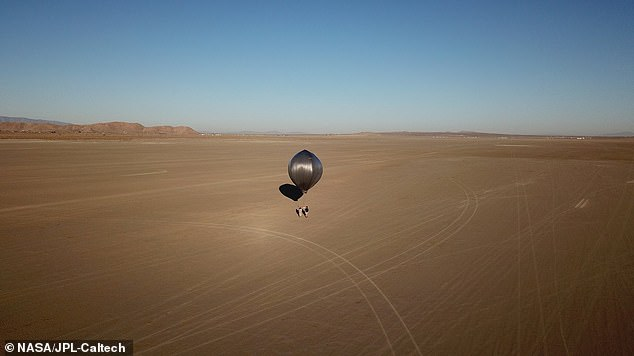 Two 'heliotrope' high-altitude balloons with instruments attached to them were flown to measure the 2019 Ridgecrest earthquakes that triggered more than 10,000 aftershocks over a six-week period.