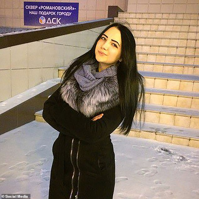 A law enforcement source said preliminary investigations revealed Filatova (pictured) and Osipova 'had an argument about which of them was the better teacher' at the summer camp