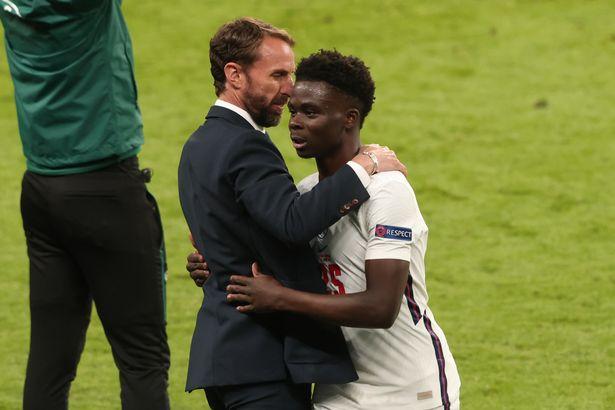 Bukayo Saka enjoyed a promising night at Wembley