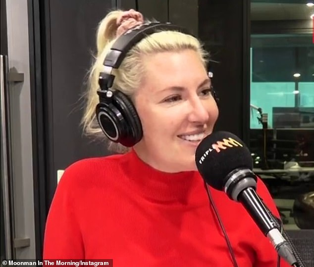 'Good on them': Despite not allowing them on his show, Lawrence applauded reality stars who land a gig on radio. Lawrence's co-star Jess Eva (pictured) rose to fame on The Block in 2018, before landing a job in radio