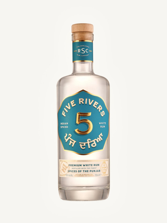 Five Rivers Indian Spiced white rum