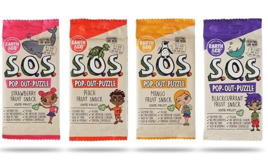 SOS Natural Fruit Snacks