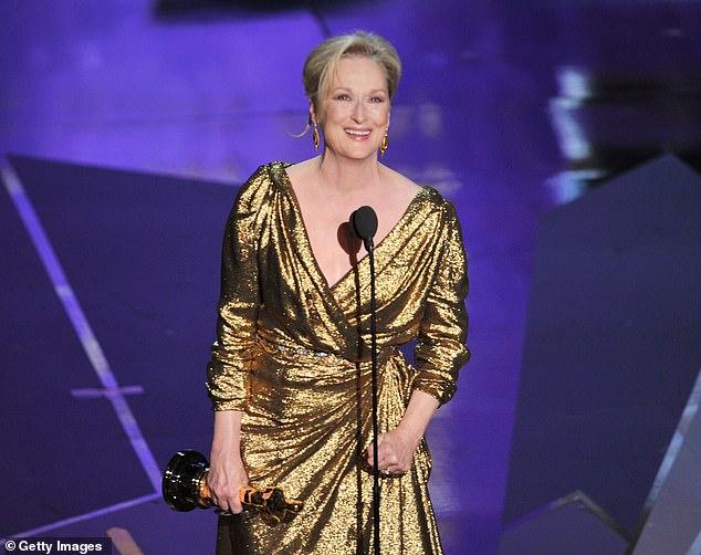 "Awkward: 'I like the way you phrase that, that I finally got to work with Meryl Streep,' Stone said. 'You didn't say, 'Meryl finally got to work with Sharon Stone."" Or we finally got to work together'"