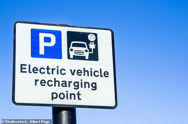The report reads: 'Rollout of public charging infrastructure must not lead to incentives for the wealthiest in society to continue to own a car'