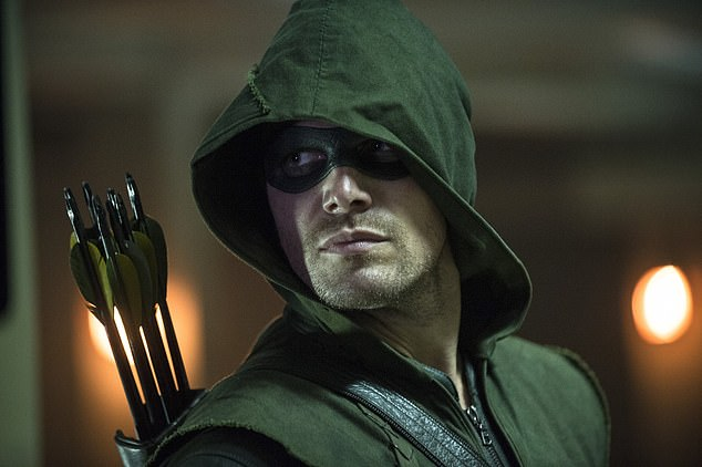 Action: Stephen found fame in 2012 when he was cast as Oliver Queen, the Green Arrow in The CW show Arrow, based on the DC Comics superhero of the same name