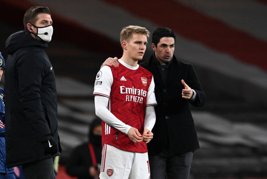 Mikel Arteta has made it clear he wanted to keep Martin Odegaard at Arsenal