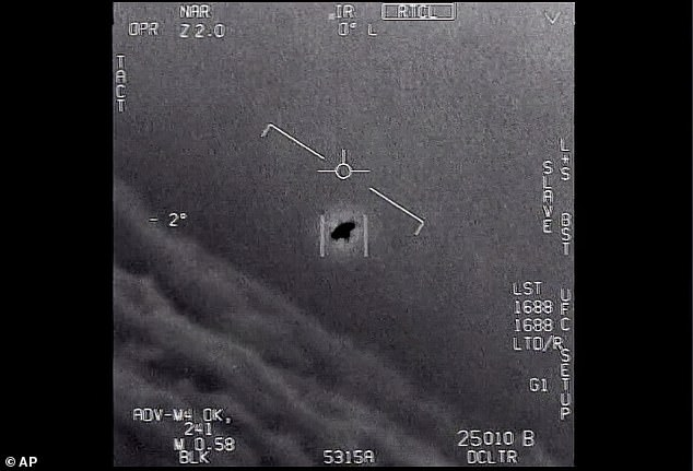 The footage had been previously acknowledged as real by the Navy, and captured what pilots recorded on their video sensors during training flights in 2004 and 2015