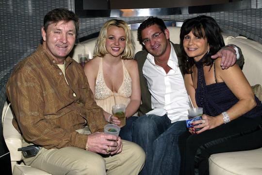 U.S. - Britney Spears at Palms Home Poker Host Launch in Las Vegas