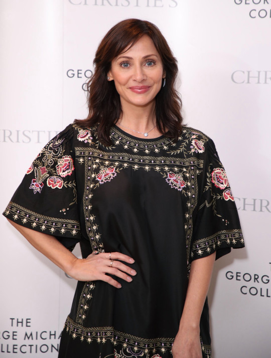 LONDON, ENGLAND - MARCH 12: Natalie Imbruglia attends The George Michael Collection VIP Reception at Christies on March 12, 2019 in London, England. (Photo by Mike Marsland/Mike Marsland/WireImage) ID: 9699449 Blast from the past! Natalie Imbruglia looks ageless in promotional clips for her single Build It Better as she announces her first album in 12 years