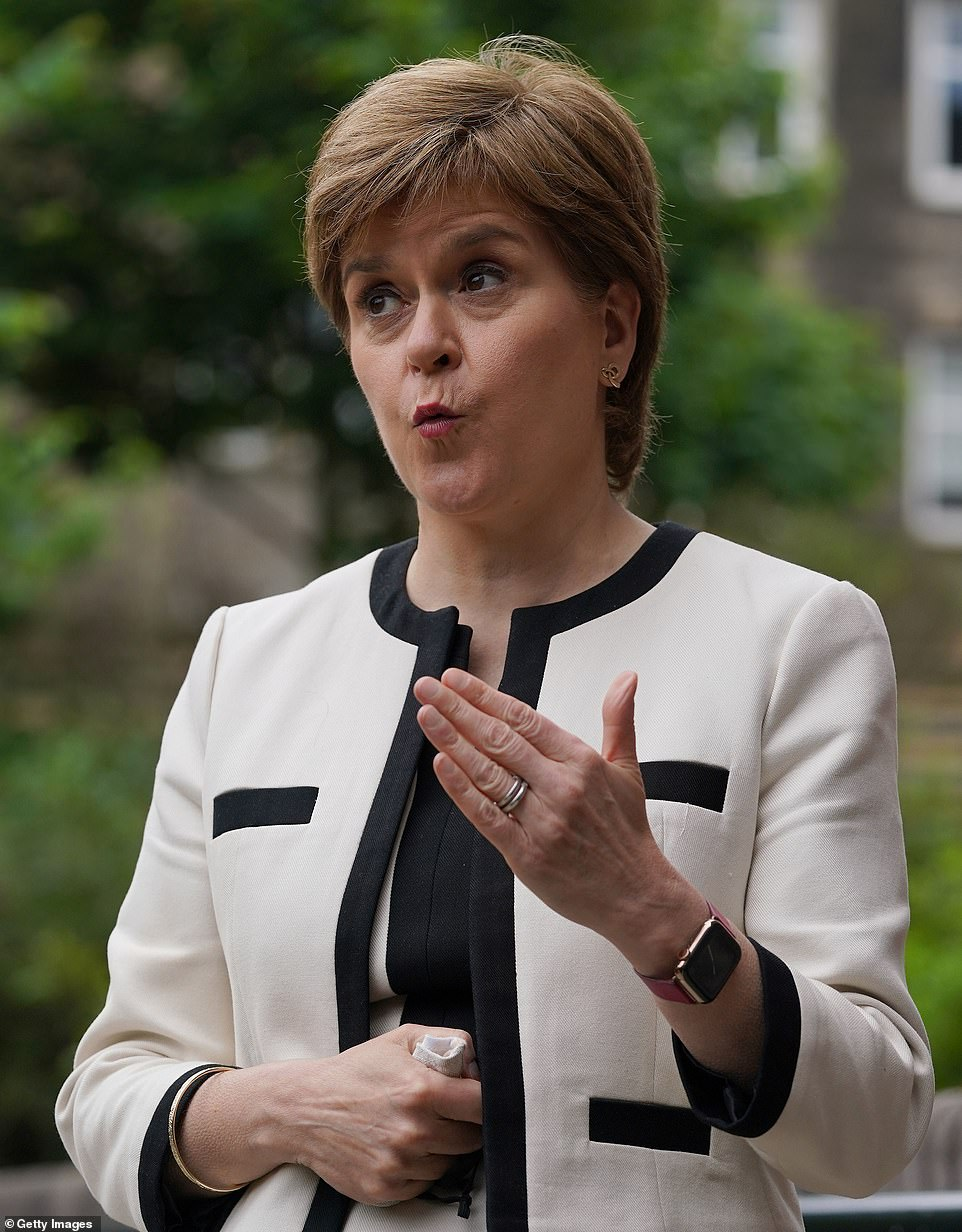 Nicola Sturgeon raised the prospect of some Scottish Covid restrictions remaining in place into the autumn earlier this week as she postponed ending the country's lockdown