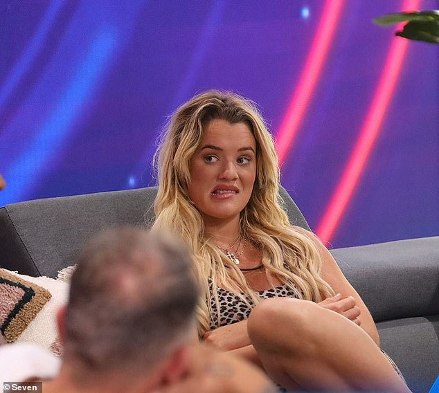 Tough:It comes as Tilly admitted it took her 'months' to get over her 'traumatic' exit from the show