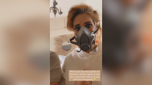 Stacey Solomon worries she has ghosts in her house