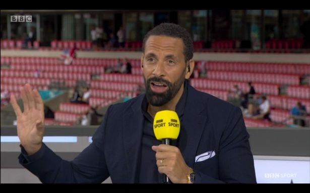 Rio Ferdinand is impressed with England at Euro 2020