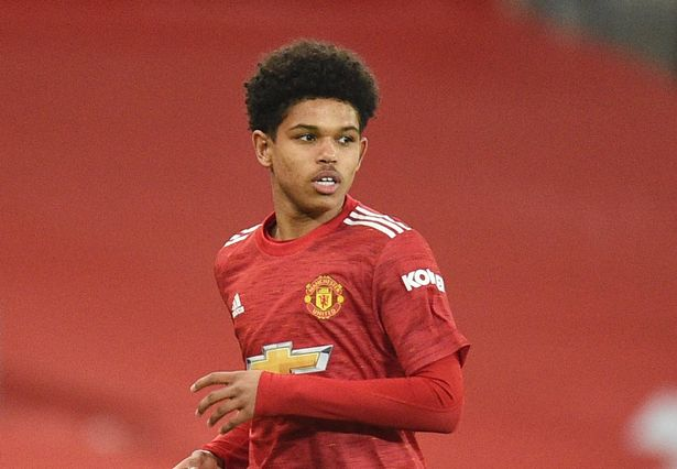 Shola Shoretire made his Manchester United debut in February
