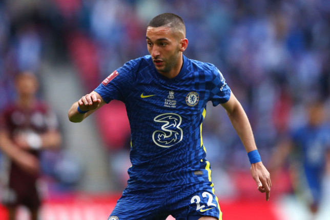 Ziyech only joined Chelsea in the summer of 2020
