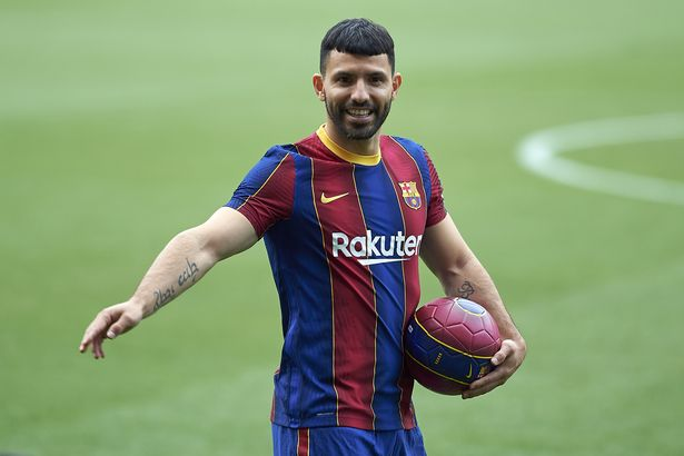 Sergio Aguero has joined Barcelona on a free transfer after a decade at Manchester City