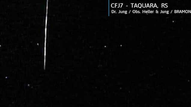 Meteor 'from another solar system' rains over Brazil