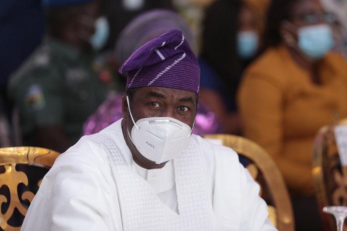 Deputy Governor of Lagos state, Dr. Obafemi Hamzat