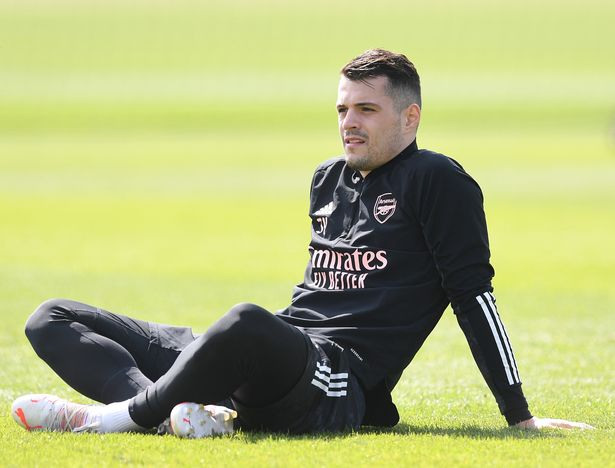 Granit Xhaka could be the first of many Arsenal departures this summer