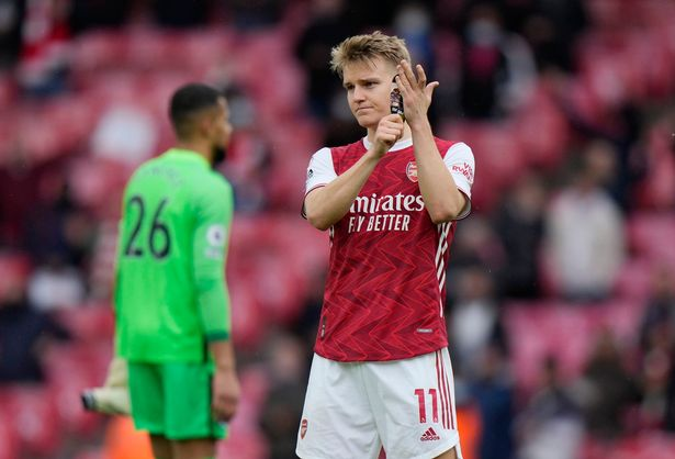Martin Odegaard is on his way back to Real Madrid after his loan spell at Arsenal concluded