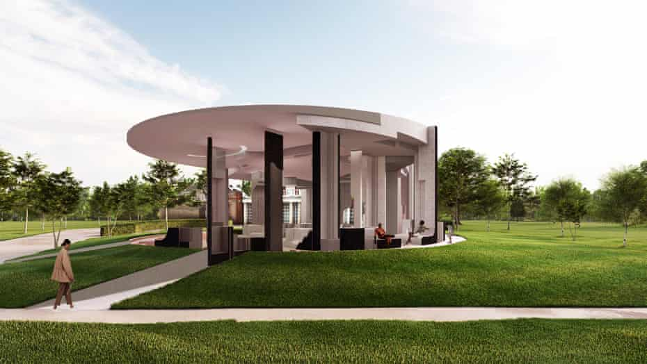 Already purchased by an Austrian spa firm … a CGI rendering of Counterspace's winning design.