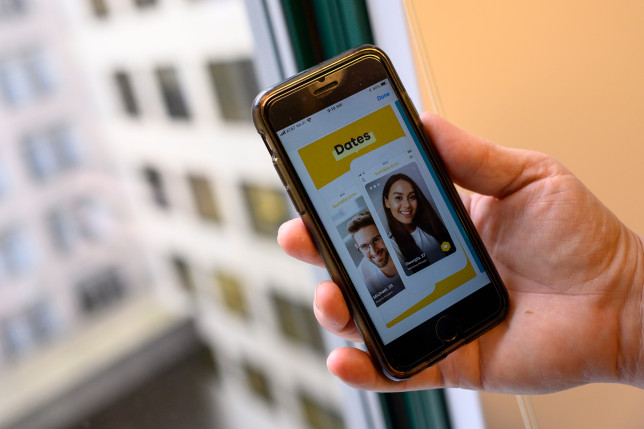 Bumble is a dating app where women make the first move (Getty)