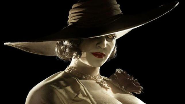 Resident Evil Village vampire Lady Dimitrescu