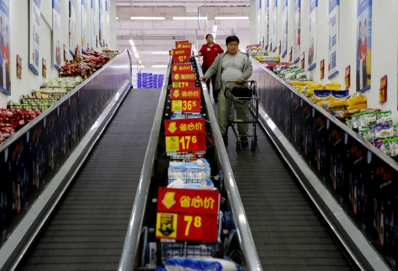China Factory Inflation at Fastest Since 2008 on Commodity Boom