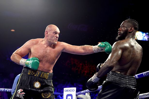 Deontay Wilder faces Tyson Fury on July 24